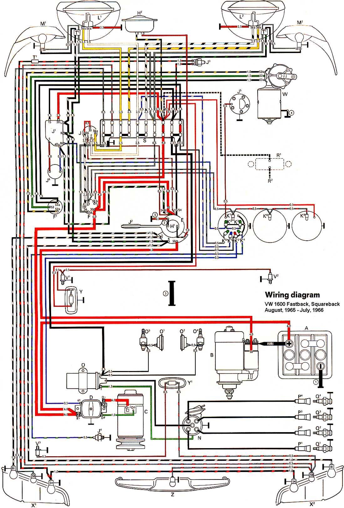 67 Vw Bug Wiring Diagram Diagrams Schematics At 1970 Beetle