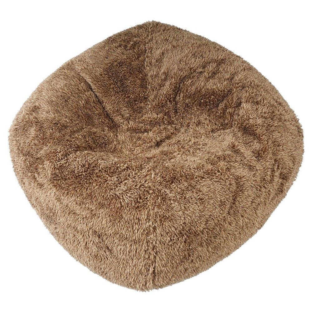 Fuzzy Bean Bag Chair Pillowfort Tan Bean Bag Chair