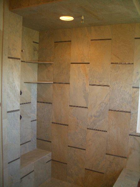 18 x 18 bathroom tile | ideas | 12x24 tile, Tiles  Tile ...