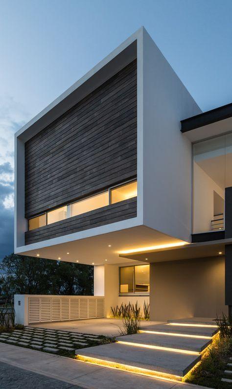Casa r p adi arquitectura y dise o interior prospetti for Diseno exterior casa contemporanea
