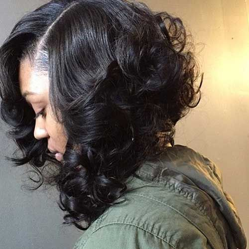 15 Bobs For Black Girls Bob Haircut And Hairstyle Ideas Weave Bob Hairstyles Short Curly Bob Hairstyles Bob Hairstyles