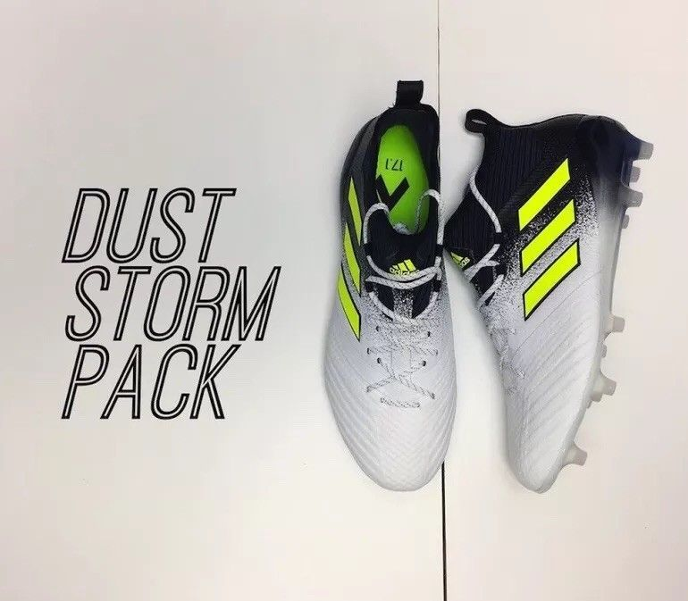 purchase cheap f9fda 30f43 🔥$300 ADIDAS ACE 17+ PURECONTROL FG 8.5 DUST STORM tango 18 ...