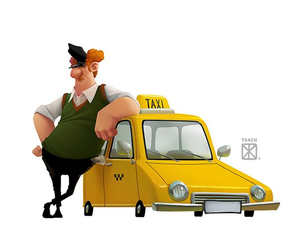 Characters By Evgeny Tkach On Behance Character Design Animation Character Design Concept Art Characters