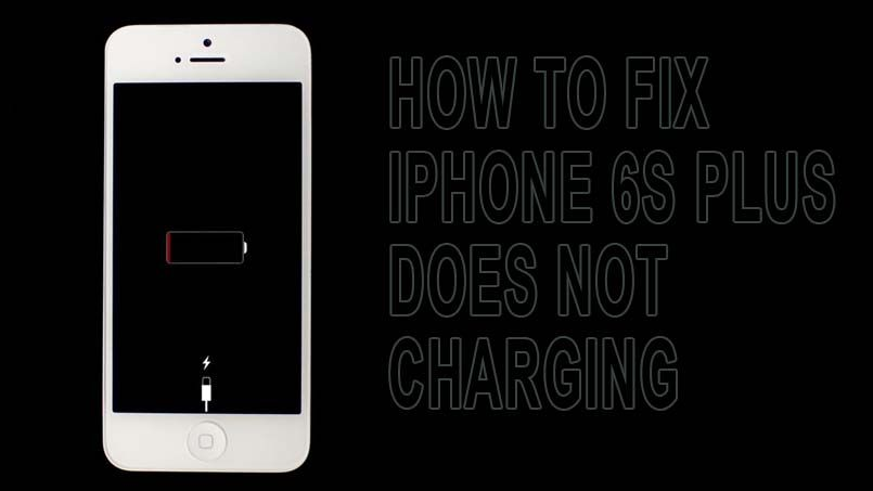 new product 44dec 89c79 Easy Steps to Fix When Your iPhone 6s Plus Not Charging | iPhone ...