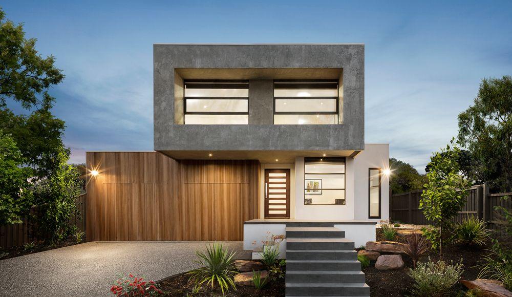 Single & Double House Storey Facades Melbourne Modern
