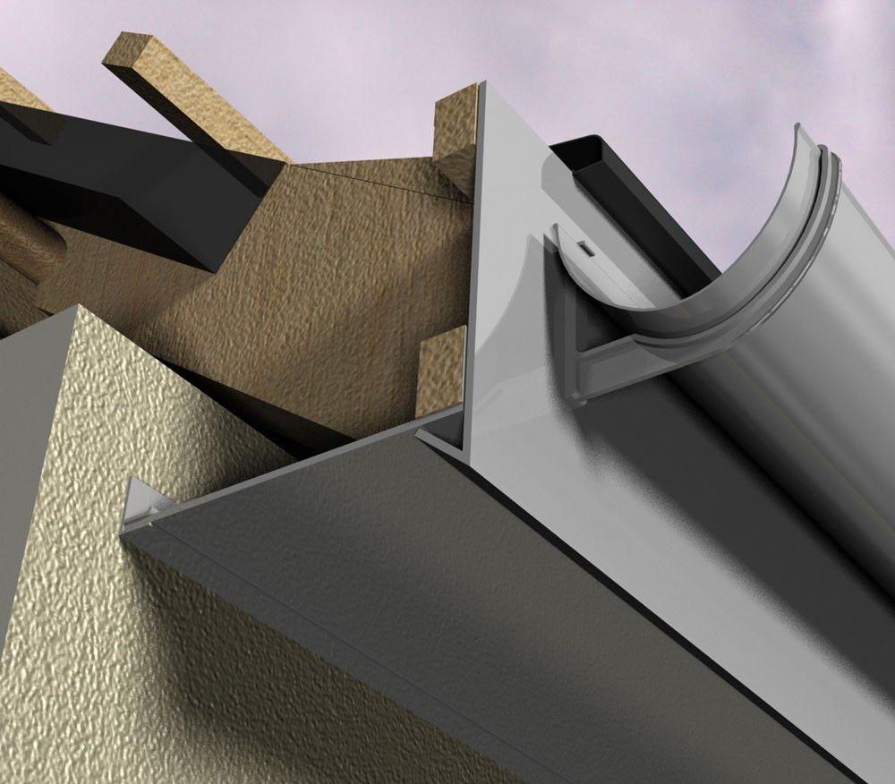 Marley Alutec Evoke Composite Aluminium Fascia System Type
