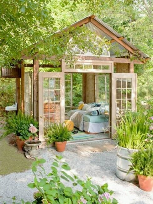 outdoor rooms and backyard ideas outdoor bedroom decorating ideas : greenhouse decorating ideas - www.pureclipart.com