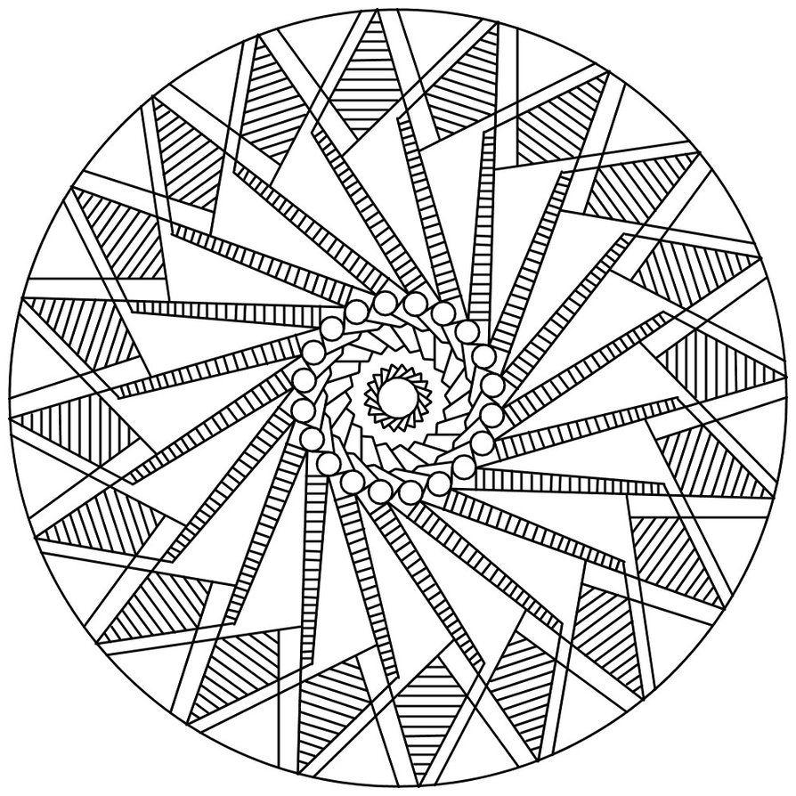 Mandala 122 by Sadadoki on DeviantArt | Mandala coloring ...