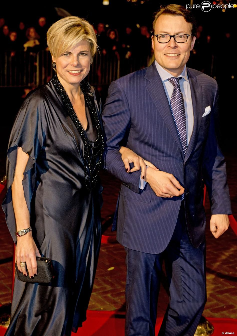 Princess Laurentien and Prince Constantijn The royal