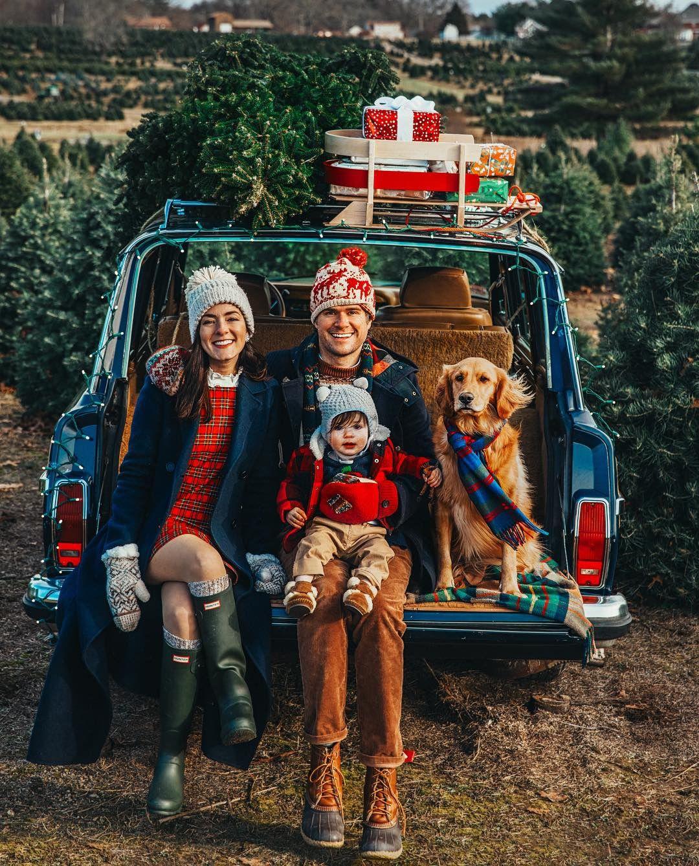 Henry's Christmas Tree Farm - Classy Girls Wear Pe