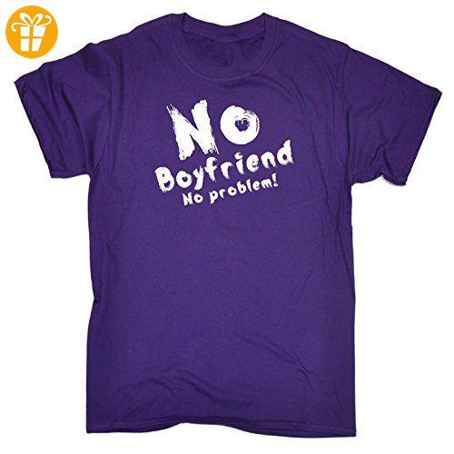 123t Slogans Herren T-Shirt, Slogan Violett Violett - Shirts mit spruch (*