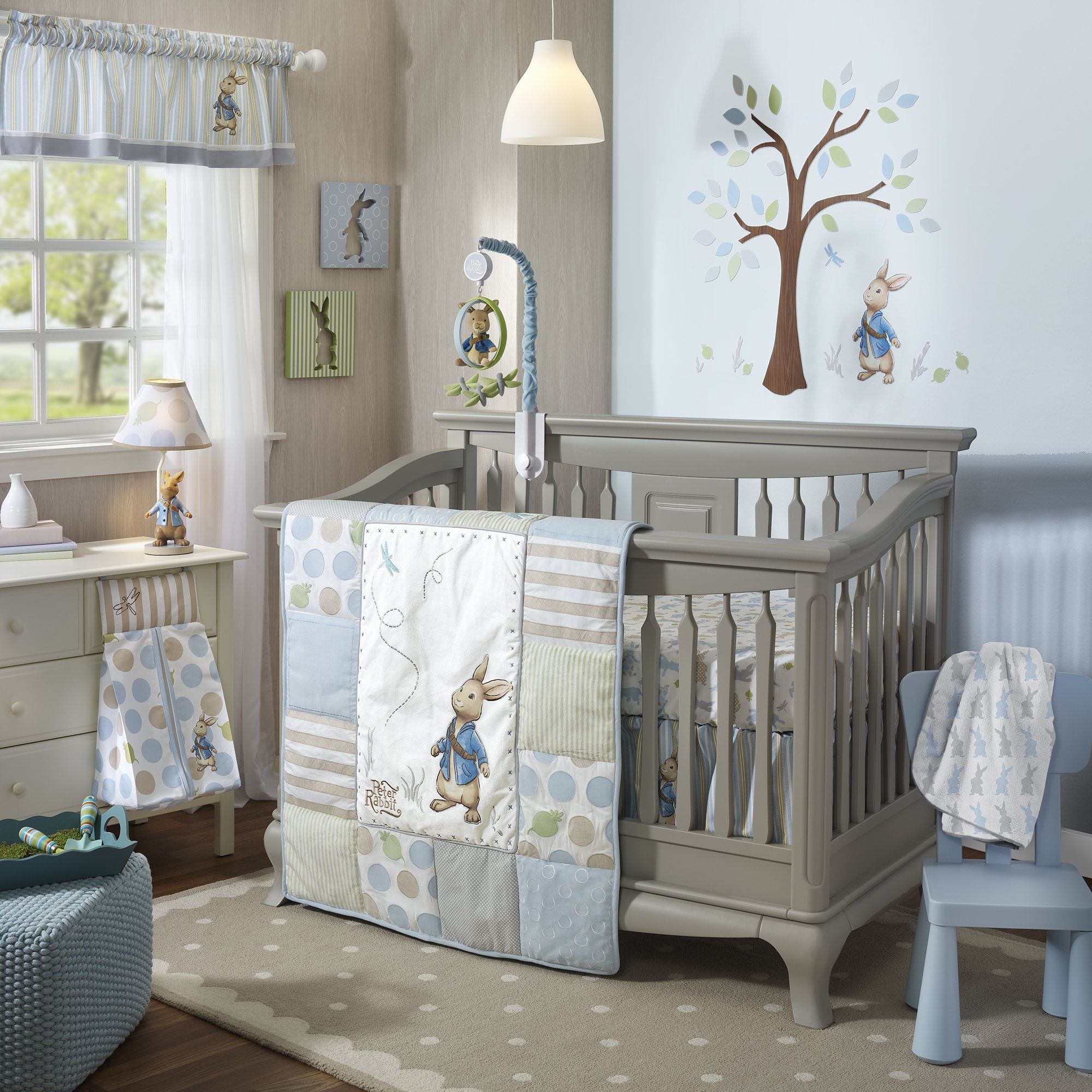 Lambs And Ivy Peter Rabbit Baby Bedding And Decor Peter Rabbit