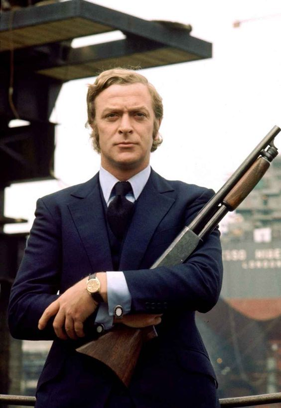 Michael Caine, the Brithis style icon who came to define the notion of understated 60s style! #MaichaelCaine #VBCStyleIcon