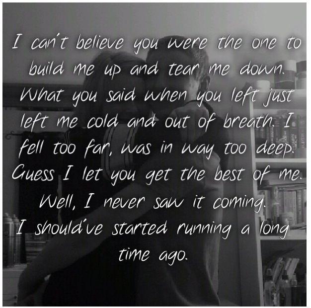 relationship abuse lyrics