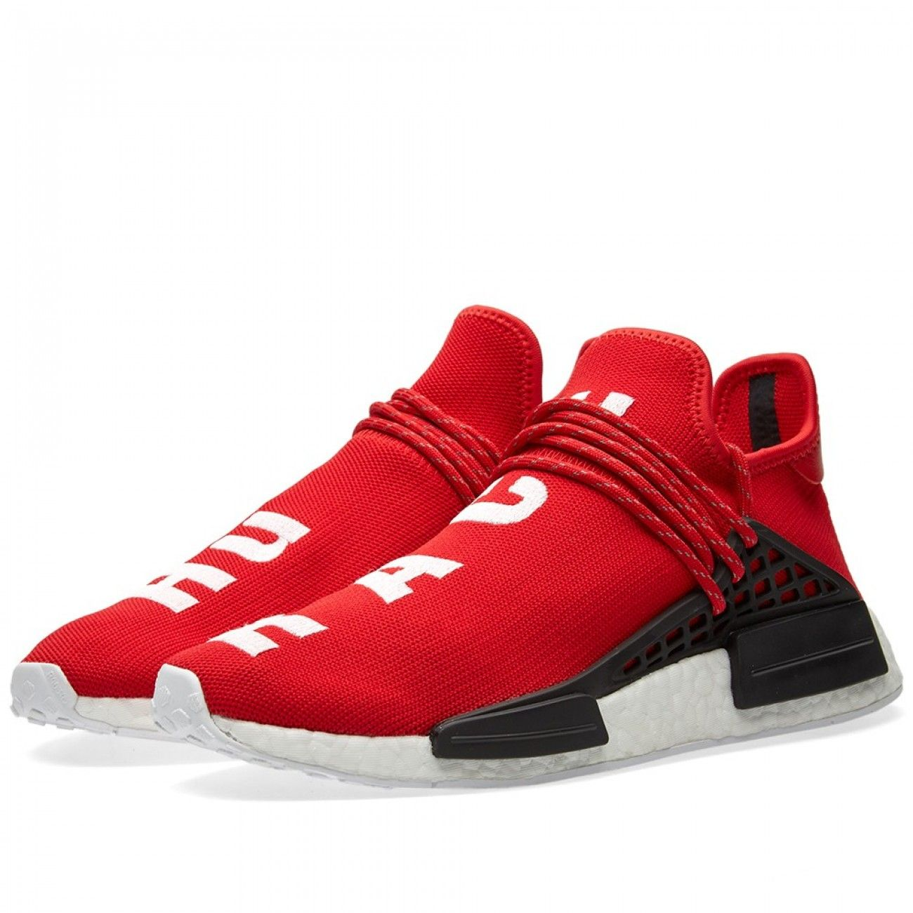 5486c0e2e Pharrell Williams x adidas Originals NMD  Human Race  –  Scarlet ...
