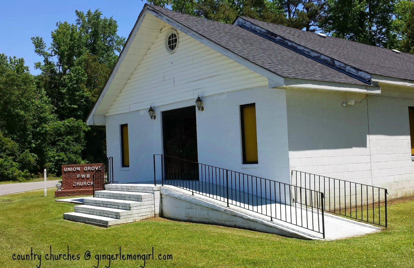 Ginger Lemon Girl: Country Church Photography: Union Grove Freewill Baptist Church
