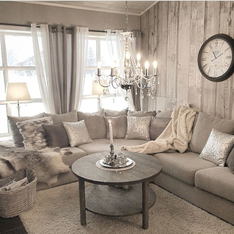 29 Easy Diy Rustic Living Room Ideas You Should Copy For Your Home Rustic Shab Rustic Chic Living Room Living Room Decor Rustic Shabby Chic Decor Living Room