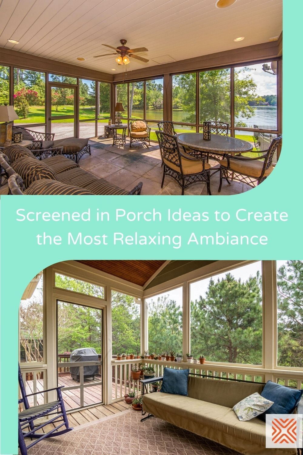 Turning a boring porch design into a beautiful space can be easy! Just check out these 8 screened in porch designs and create a relaxing space you and your family can enjoy.