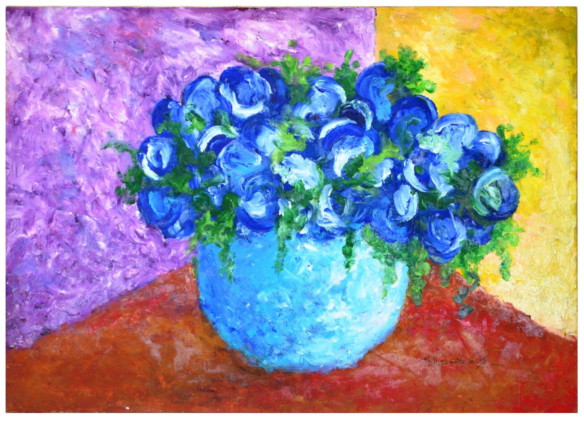 Flower vase acrylic painting type acrylic on canvas size 40 x 60 flower vase acrylic painting type acrylic on canvas size 40 x 60 cm reviewsmspy