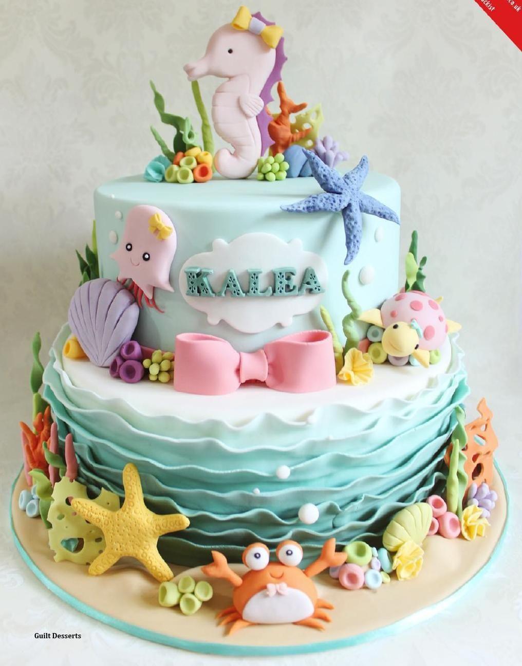 April 2015 Cake Masters Magazine   – Babyshower