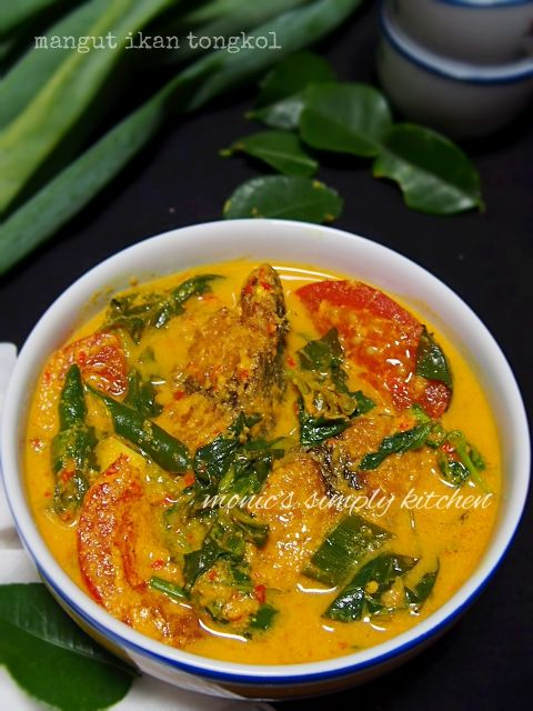 Mangut Ikan Tongkol Masakan Resep Makanan Resep Masakan