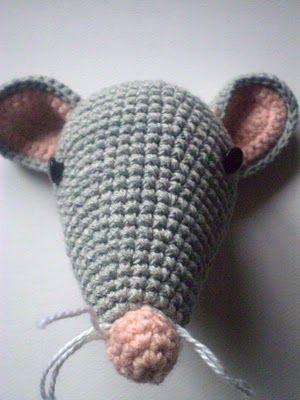 pica-pau: Patrón ratita amigurumi
