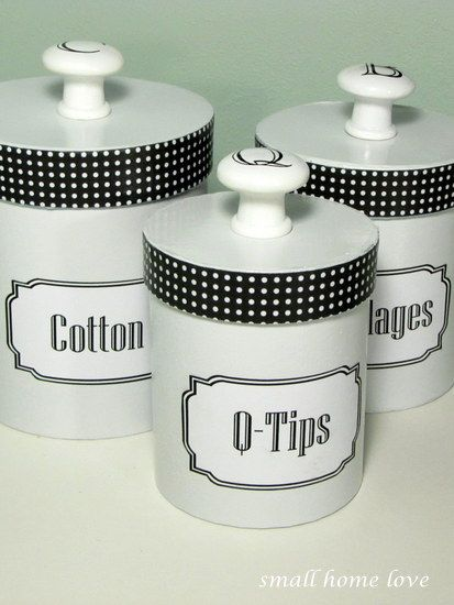 bathroom for classic canisters chrome traditional three canister vintage pb and glass