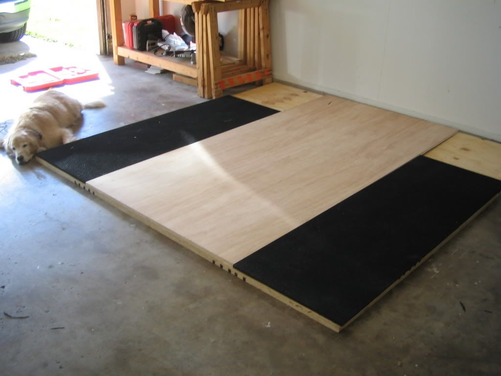 Garage Gym Reviews Diy Platform Build Olympic Lifting Platform Google Search My Garage Gym