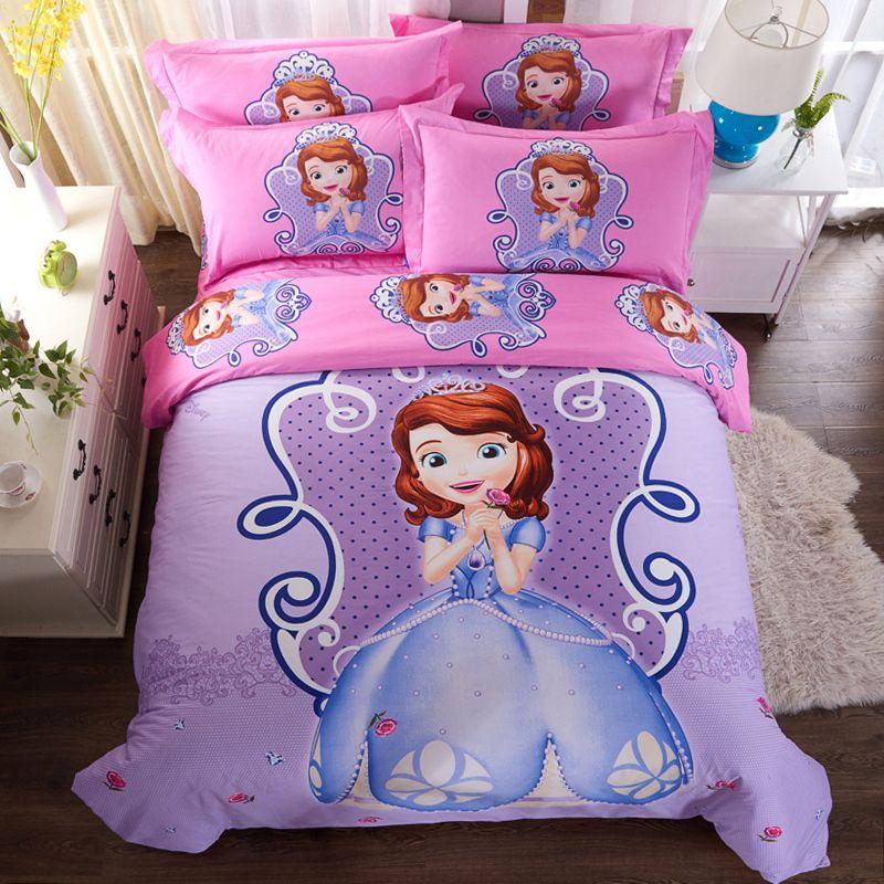 5 pièces-Disney Princesse Sofia Le Premier Couette Drap peluche Sofia Doll