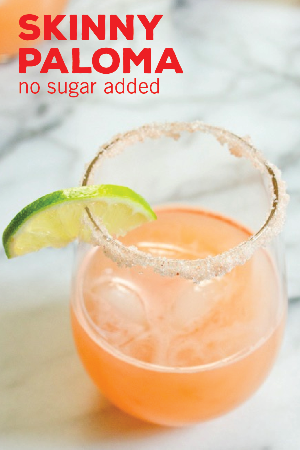 sure that this Skinny Paloma recipe will deepen your love of refreshing, citrus cocktails. With all the flavors of your favorite margarita, see how this healthy mixed drink tastes so delicious without any sugar added!
