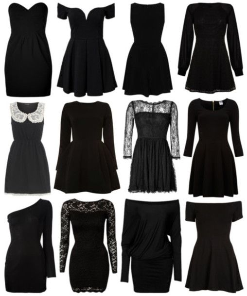 Lbd dress with long sleeves