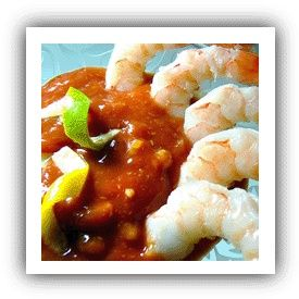 Tropical Boiled Shrimp - Recipe