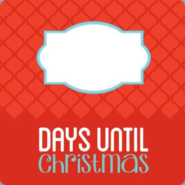 Christmas Countdown TEMPLATE: 125124 By Brooke Mehr 12 x 12 Metal ...
