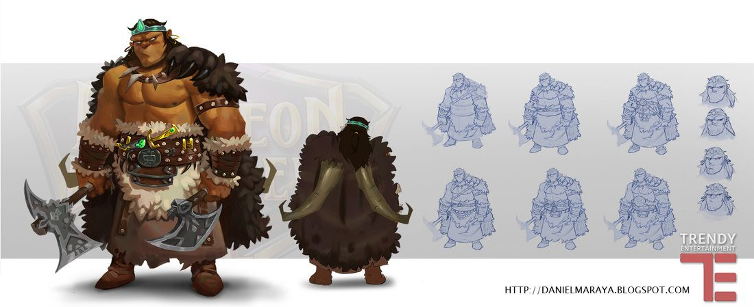 Character Design Page - blog