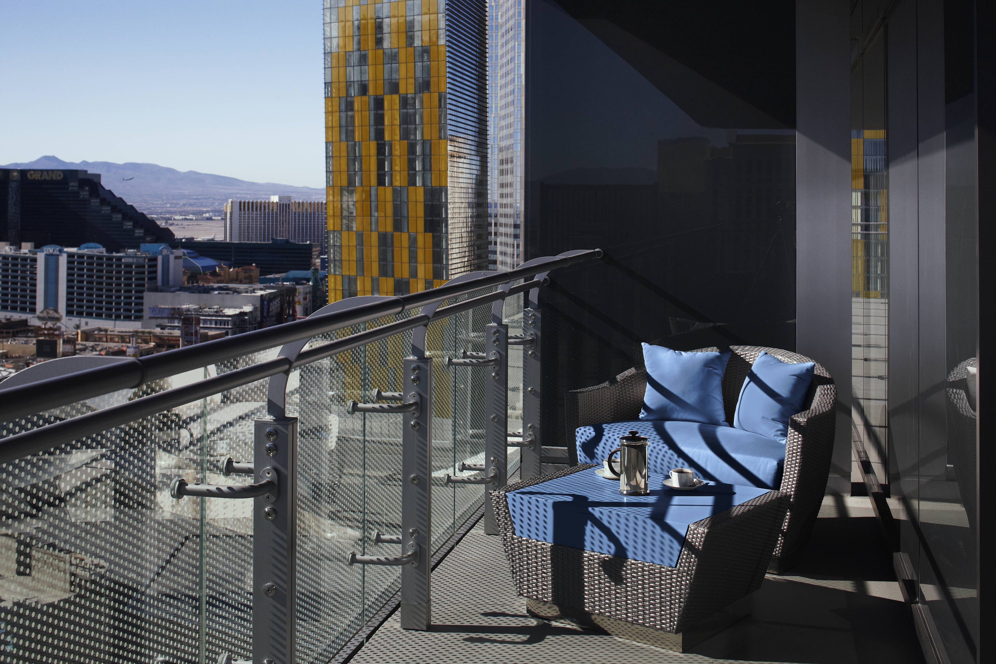 The Cosmopolitan Of Las Vegas Autograph Collection Terrace One Bedroom Suite Balcony Hotel Memorable Holidays