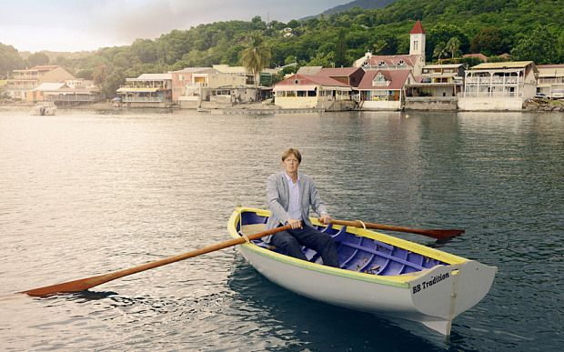 The new BBC programme Death in Paradise was shot on Guadeloupe