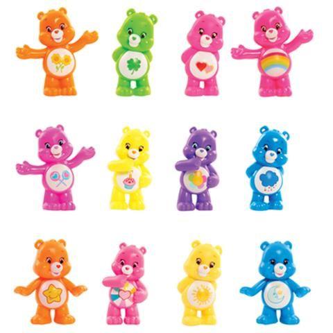 Care Bears Series 2 Neon Fun Blind Bag Figures 2 99 Care Bear Party