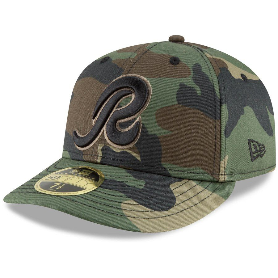 low priced c2b38 e374d Men s Washington Redskins New Era Camo Team Low Profile 59FIFTY Fitted Hat,  Your Price
