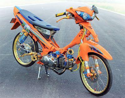 89+ Gambar Motor Drag Orange HD