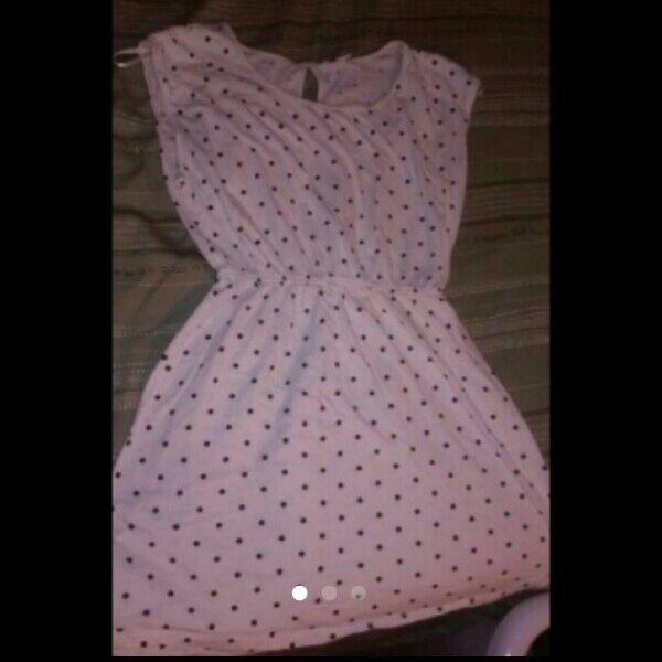 For Sale: white & black summer dress for $7