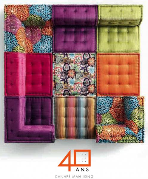 le canap mah jong de hans hopfer dit par roche bobois 40 ans design pinterest sofa. Black Bedroom Furniture Sets. Home Design Ideas