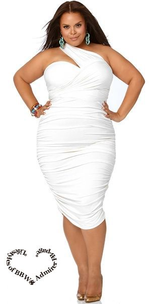 f9d60ceeb77 Maybe a rehearsal dinner dress   Marilyn  Ruched Convertible Dress - White  by Monif C.