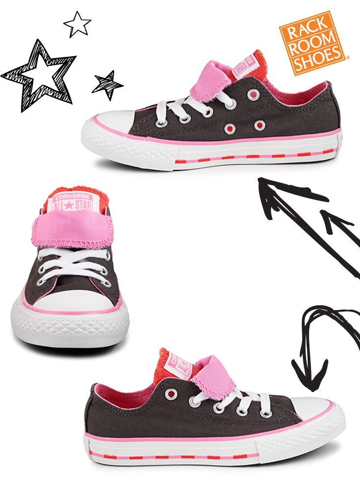Converse Chuck Taylor All Star Double Tongue Kids Shoe Rack