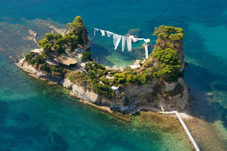 Fans Of The Mamma Mia Movie May Well Recognise Cameo Island As The Wedding Venue In The Film Cameo Is A Tiny Island Off Lag Zakynthos Greece Zakynthos Island