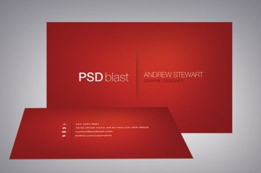 red visiting cards - Google Search visiting cards Pinterest - visiting cards