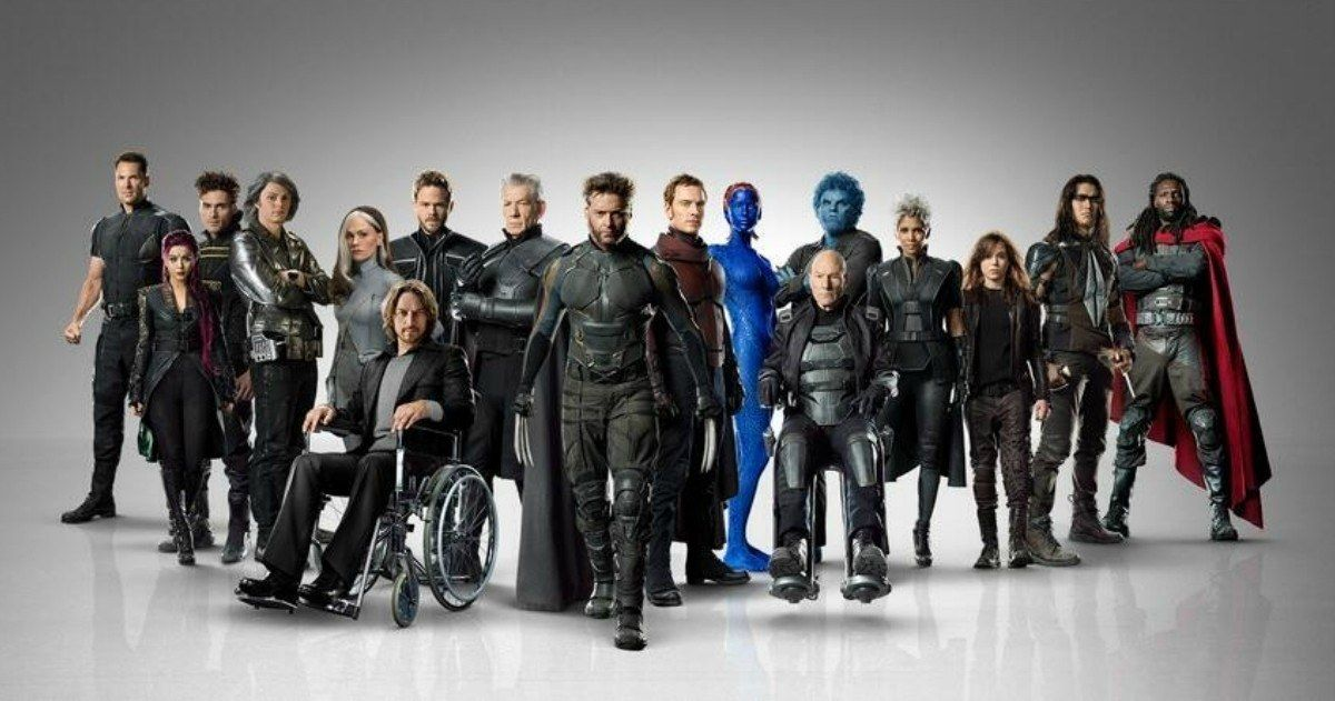 'X-Men: Days of Future Past' Cast Banner Unites Xavier's Mutant Army -- Professor X's first class joins his last to stop an evil robot army that threatens all of mankind in this Marvel sequel. -- http://www.movieweb.com/news/x-men-days-of-future-past-cast-banner-unites-xaviers-mutant-army
