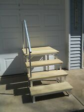 Best Portable Rv Deck With Steps And Railings Ebay Toilet 400 x 300