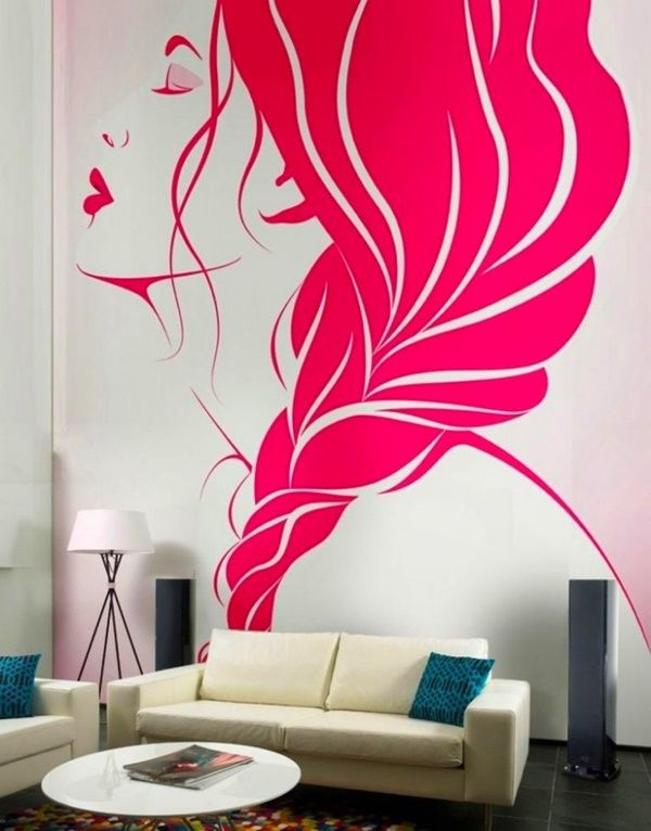 pop art bedroom decor.htm 40 easy wall painting designs  with images  creative wall decor  40 easy wall painting designs  with