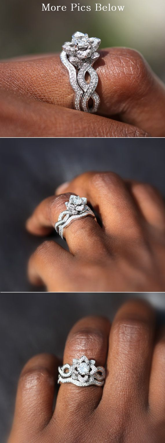 Would never expect such a ring but it is very pretty ever would never expect such a ring but it is very pretty ever blooming love 150 carat diamond engagement ring on etsy garden wedding pinterest izmirmasajfo Choice Image
