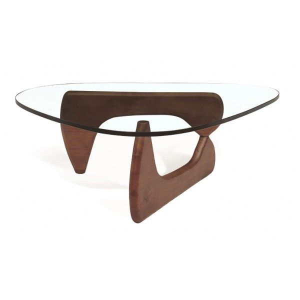 Noguchi Coffee Table Two Interlocking Sculptured Lacquered